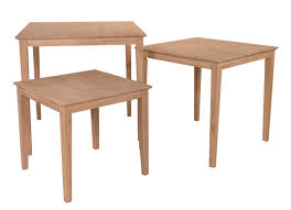 Unfinished Tables