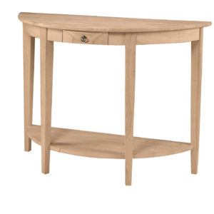 Unfinished Accent Table