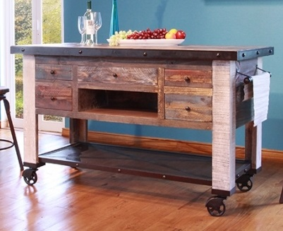 Reclaimed Kitchen Islands For Sale