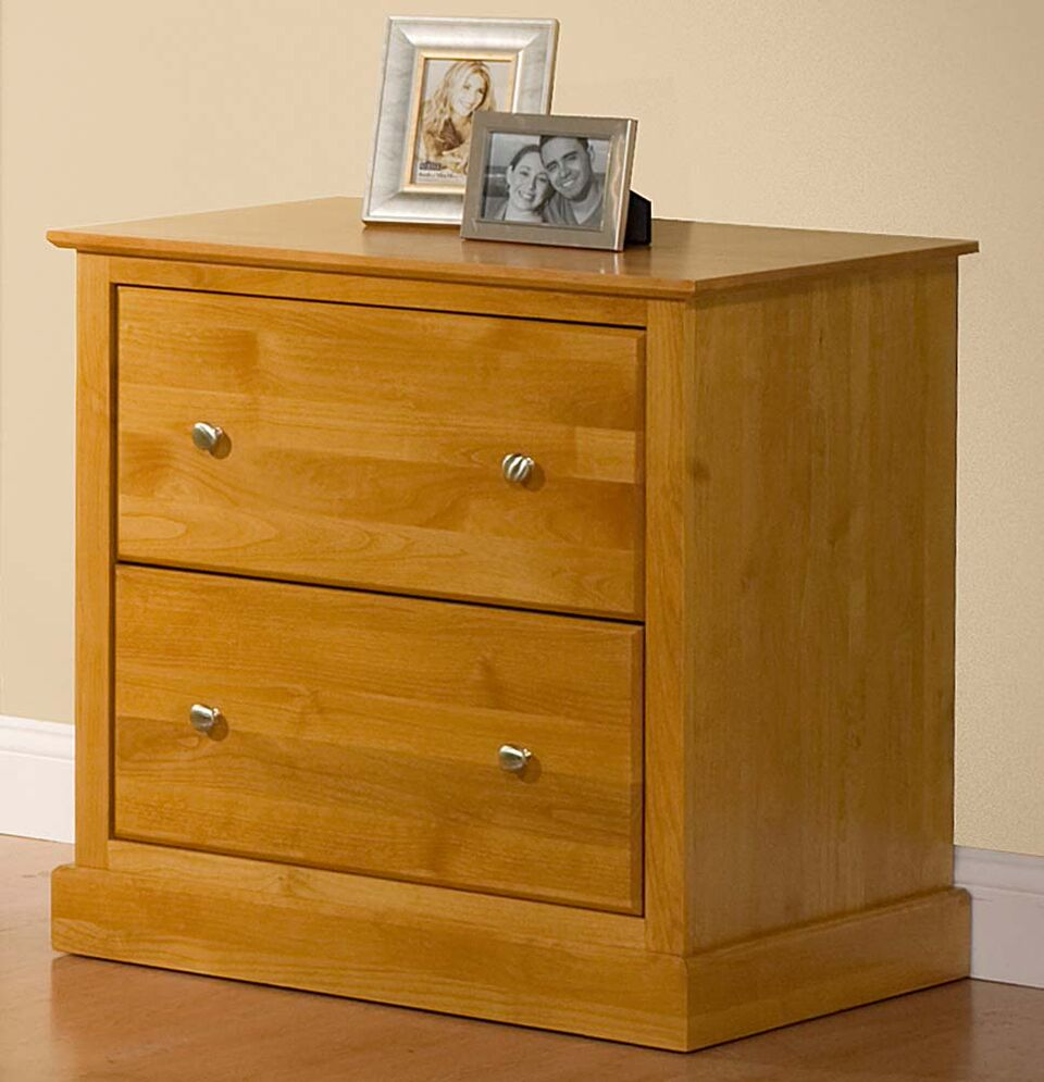 Unfinished Alder Lateral File Cabinet