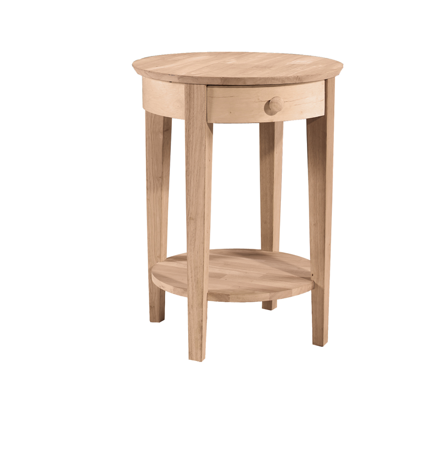 Shaker Accent Table Round