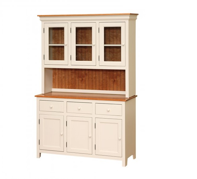 Amish Built Hutch And Buffet