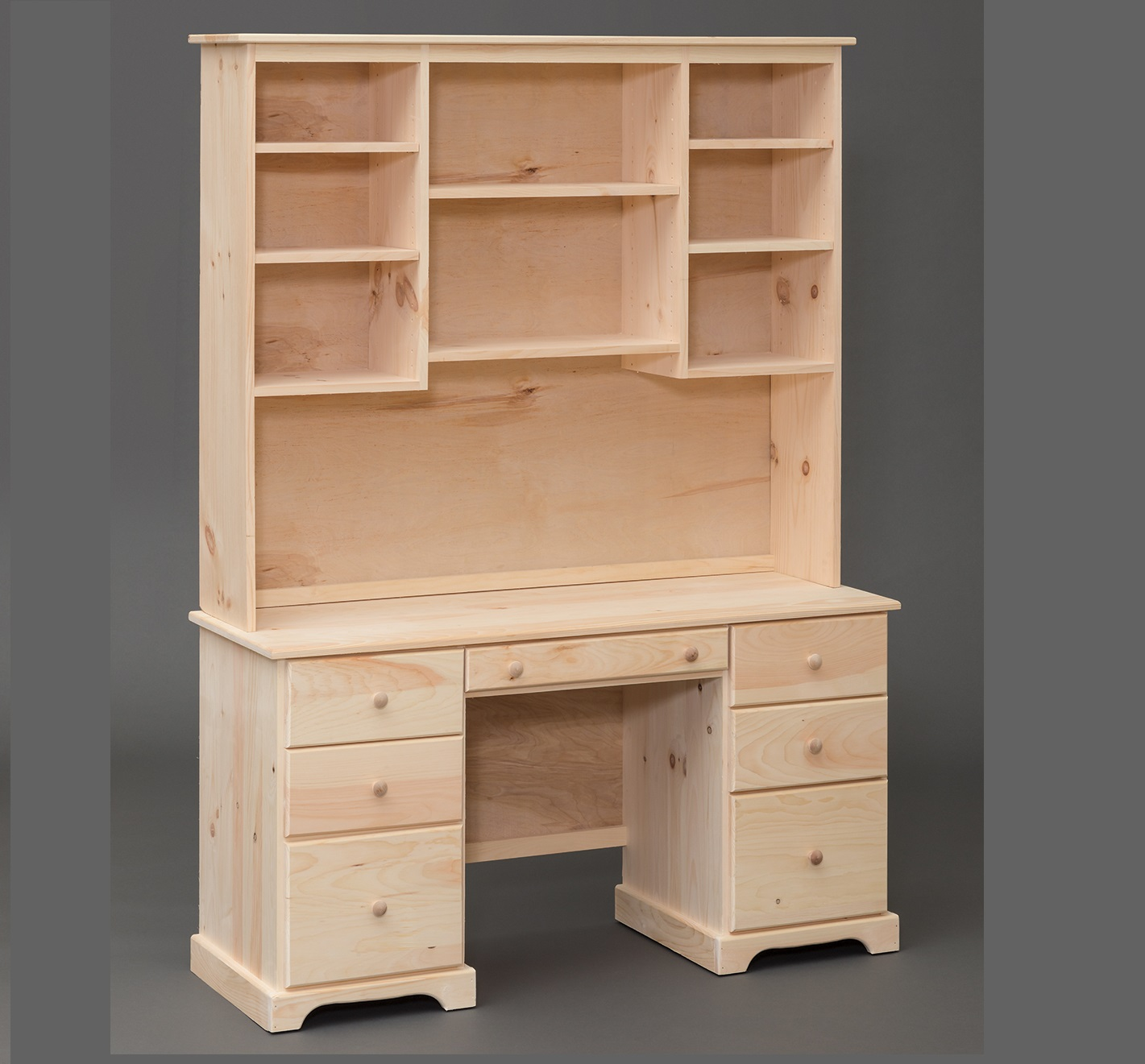 Amish Built Shaker Pine Desk