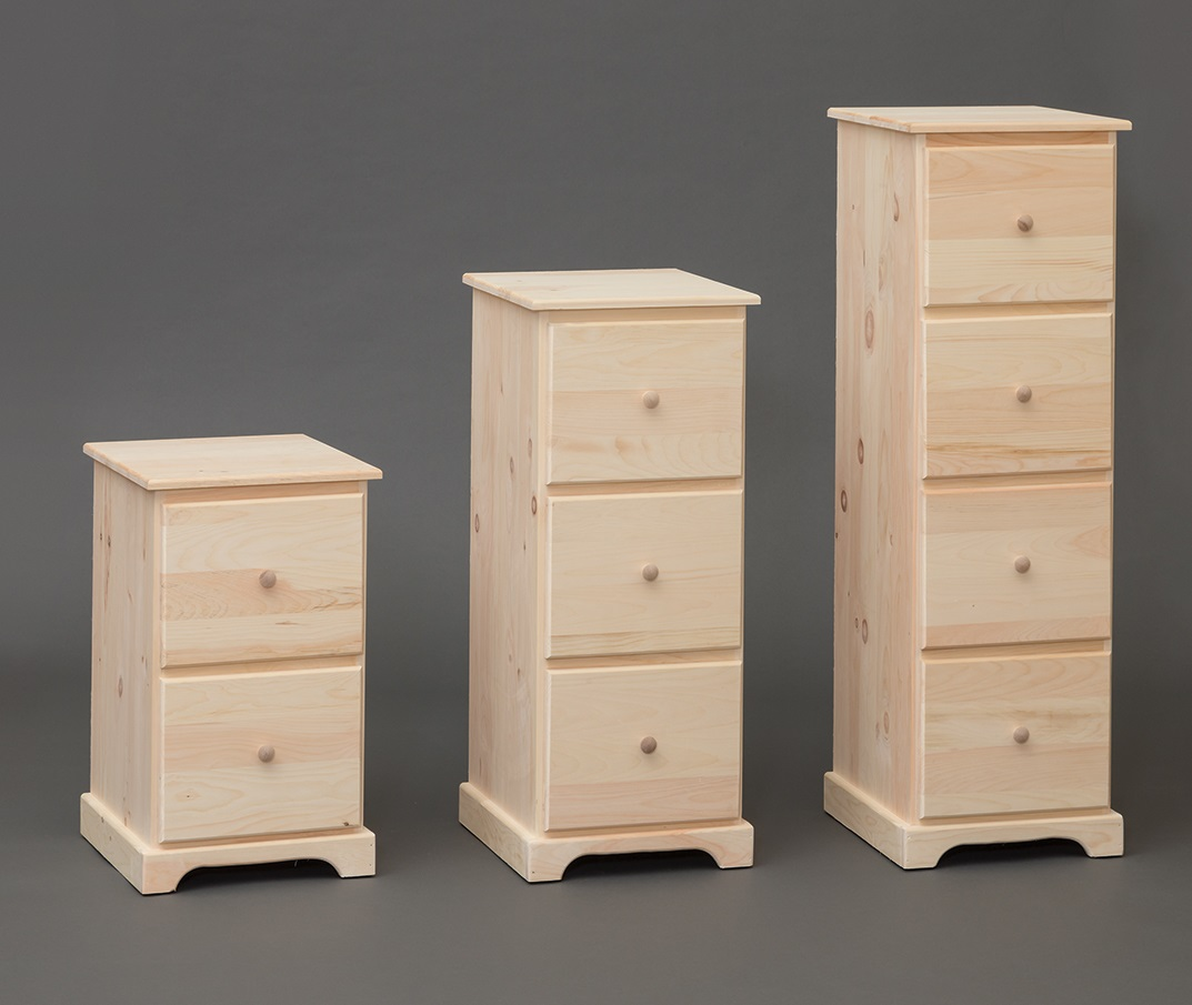 Amish Built File Cabinet