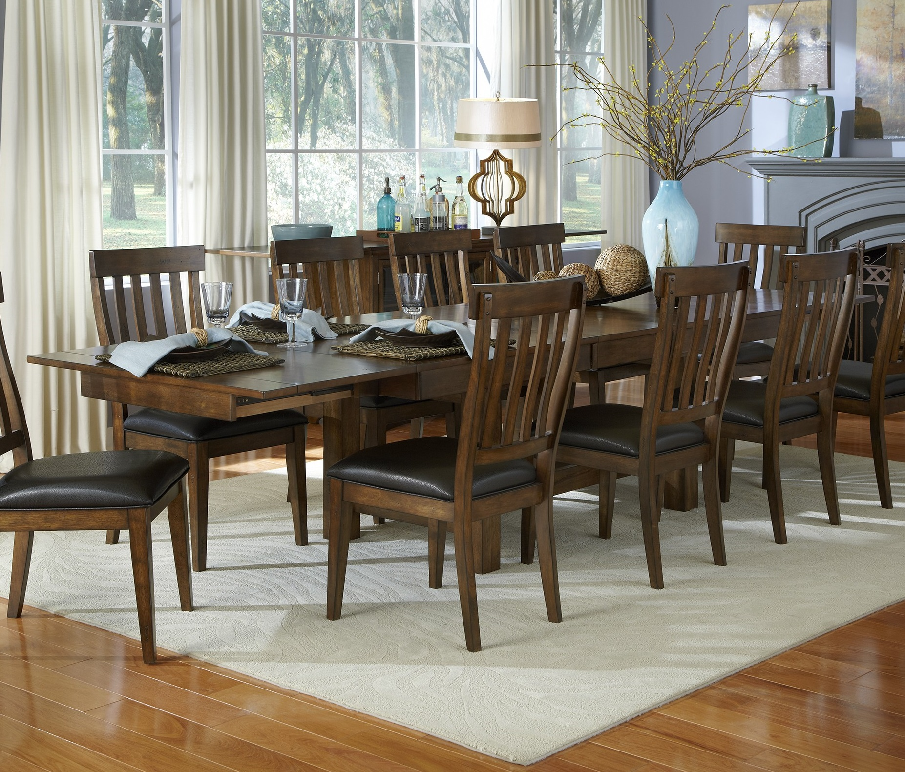 132 Solid Wood Dining Set, Solid Wood Dining Room Sets