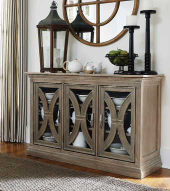 Sonoma Collection Weathered Gray Server
