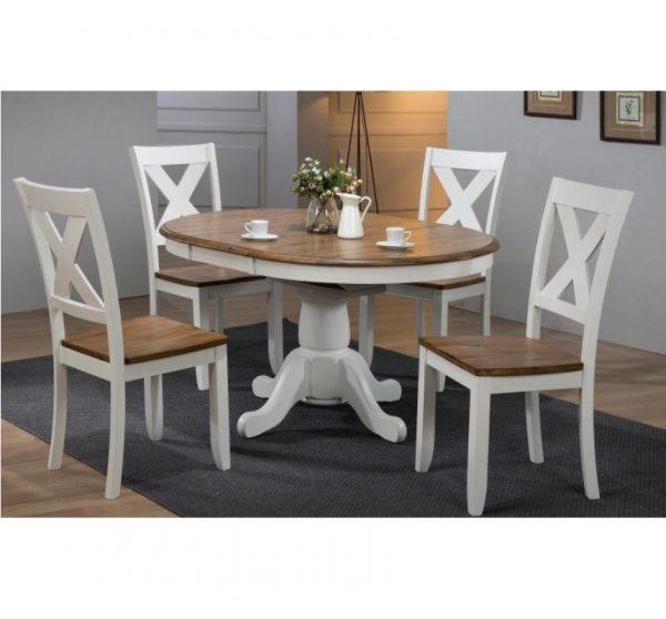 Wondrous 57 Pedestal Table X Back Chair Set Andrewgaddart Wooden Chair Designs For Living Room Andrewgaddartcom